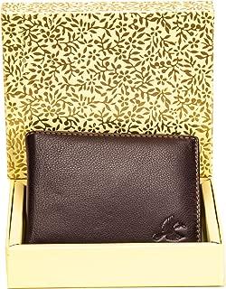 HORNBULL Maddison Men's Brown Genuine Leather Wallet Valentine Gift for Men