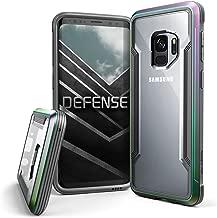 X-Doria Galaxy S9 Case, Defense Shield Protective Aluminum Frame Case Thin Design Shockproof Transparent Case for Samsung Galaxy S9, Iridescent
