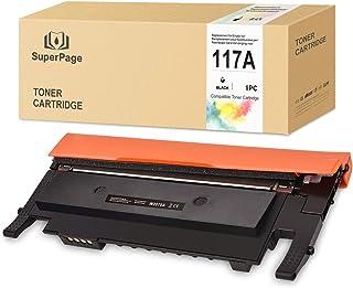 [con Chip] Superpage reemplazo para HP 117A W2070A Cartuchos de tóner para HP 150a 150nw 178nw 179fnw Laserstampanti,1 Pac...
