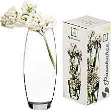 "Pasabahce 43966 - glazen vaas ""Botanica"" met buik, elegant, hoog, tijdloos, hoogte 26 cm"