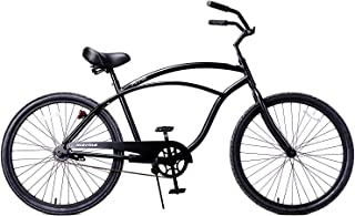 Fito Men's Marina Aluminum Alloy 1-Speed Beach Cruiser Bike