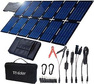 TP-solar Kit de cargador de panel solar plegable de 100 W