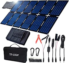 TP-solar 100W Foldable Solar Panel Charger Kit for Portable Generator Power Station..