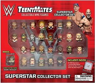"""TeenyMates WWE Superstar Collector Set, 27 WWE TeenyMates 1"""" Figures"""
