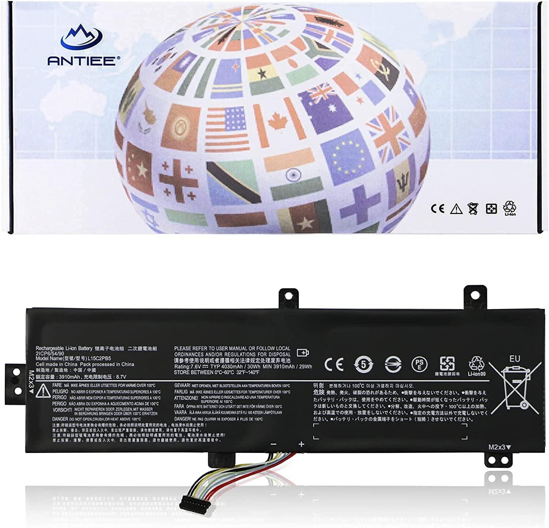 ANTIEE L15C2PB5 Laptop Battery Replacement for Lenovo IdeaPad 510-15ISK 510-15IKB 310-15IKB 310-15ISK 310-15ABR 310-15IAP L15L2PB5 L15S2TB0 L15M2PB5 L15M2PB3 L15C2PB3 L15L2PB4 L15C2PB7