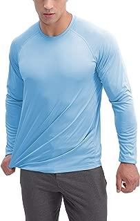 Men's Sun Protection Long Sleeve Shirt Outdoor Sports Performance Shirts Running Workout T-Shirt UPF 50+
