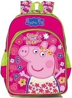 Peppa Pig School Backpack (Pink)