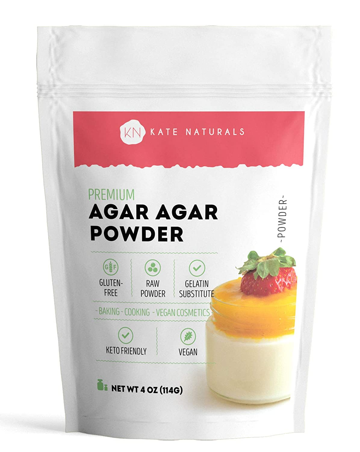 Agar Powder 4oz Don't miss the campaign for Vegans and Kate by Outlet sale feature Naturals. V Baking
