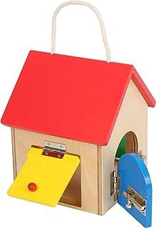 """small foot 12090 Schlosshaus """"Kompakt"""" aus Holz, mit diversen Riegeln und.."""