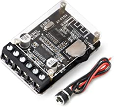 DAMGOO Audio Amplifier Board with Bluetooth 5.0, 10W 15W 20W 2.0 Dual Channel Stereo Wireless Mini Amp Module with Protective Shell