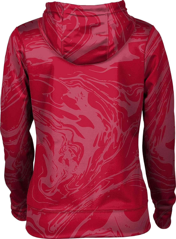 North Shore Senior High School Girls' Pullover Hoodie, School Spirit Sweatshirt (Ripple)