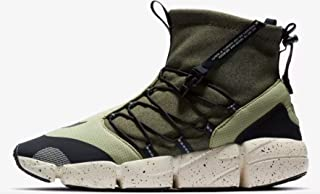 Nike Men's Footscape High-Top Utility Shoes DM Sneakers, Olive/Black, Size 8 (M) US