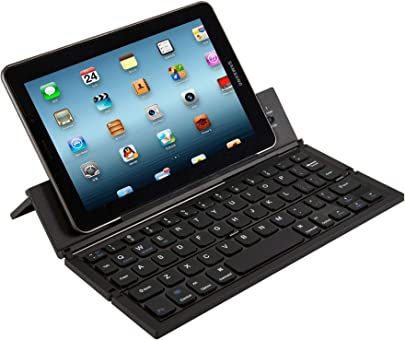 JIANGJIE Tastatur Bluetooth Faltbare Wireless Keyboard mit Portable Pocket Gr e Aluminum Alloy Housing f r iPad iPhone und Mehr Tablets Laptops und Smartphones White Schätzpreis : 61,99 €