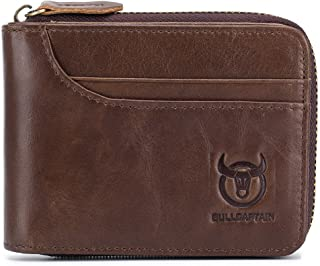 Stylish Wallet: Premium Full Grain Leather, Lining Is Polyester, Good Gifts For Father, Husband Or Friends,