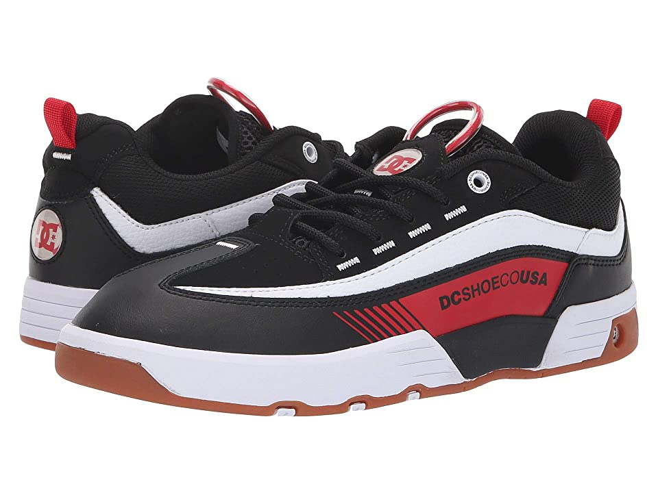 DC Legacy 98 Slim (Black/Red/White) Men