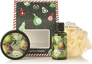 The Body Shop Gift Set, House Of Juicy Pear Delights - Containing a delightful duo of special edition Juicy Pear products, it's the perfect gift for someone who'll love this fresh and fruity scent.