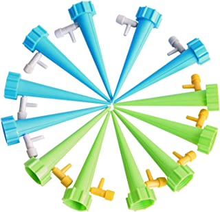 Mainstayae 12 Pcs Automatic Plant Waterer Potted Flower Self Watering Devices Slow Release Bottle Irrigation Stake for Out...