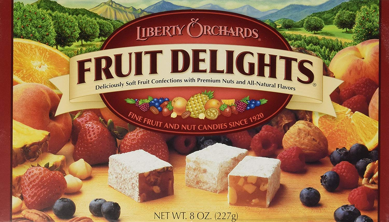 Fruit Delights 5 ☆ very popular Atlanta Mall Nut Candies 3 8 Pack Oz