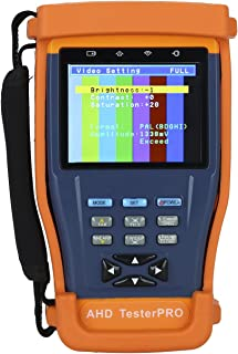 Seesii Professiona ST893AHD Portable 3.5 inch Screen HD 1Mp 1.3Mp 5Mp Analog Camera 720P 1080p AHD AHD2.0 CCTV CVBS VGA Camera Test Tester Monitor PTZ Control 12V Output