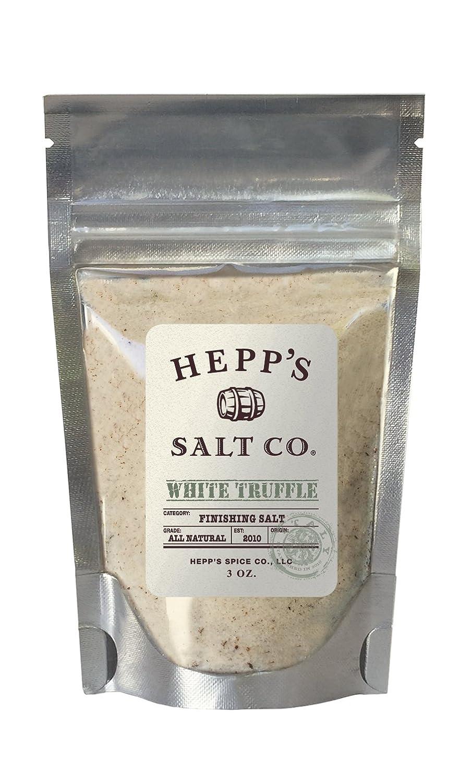 Chicago Mall Hepp's Salt Co Gourmet White Truffle Sea 3oz Finishing Special sale item