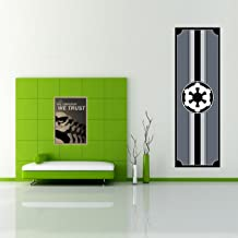 Östberg & Sørensen Flag Company Star Wars Galactic Empire Indoor Decorative Wall Banner High Density Polyester | Rich, UV Resistant Colors | 32 x 98 inch / 80x250cm | Machine Washable