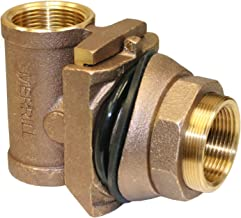 Merrill MFG MBNL225 No Lead Brass Pitless Adapter, 1-1/4