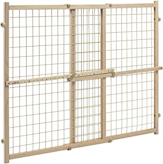 Evenflo Position and Lock Tall Pressure Mount Wood Gate (expands from 31- 50 inches)