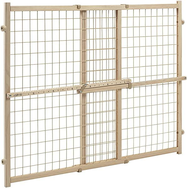 Evenflo Position And Lock Tall Pressure Mount Wood Gate Expands From 31 50 Inches