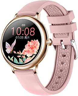 High quality Fashion Women Smart Watch Heart Rate Monitoring Message Reminder Waterproof Girl Smartwatch for Android IOS (...