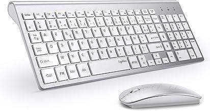 clavier sans fil pour ordinateur blanc