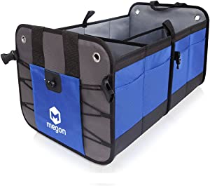 Car Trunk Boot Organizer Tidy Bag  Heavy Duty  Durable  Waterproof  Tools Carrier Box  More Mess Trunk  Car Trunk Storage  Car Boot Storage For MITSUBISHI L200