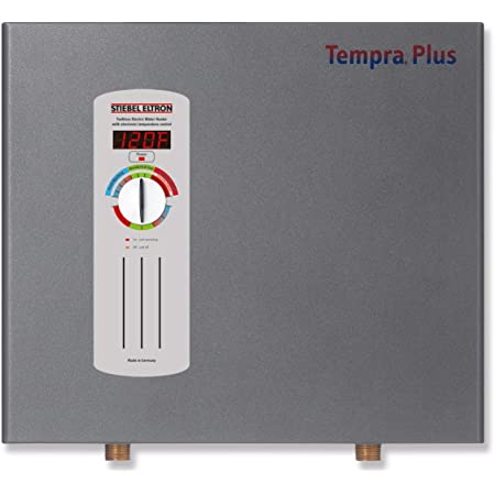Stiebel Eltron Tempra 15 Plus Electric Tankless Whole House Water Heater, 240 V, 14.4 kW