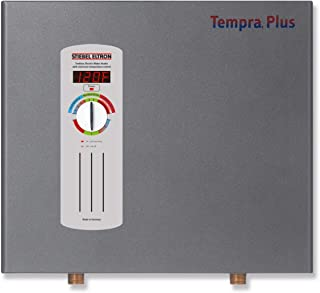 Stiebel Eltron 224199 240V, 1 Phase, 50/60 Hz, 24 kW Tempra 24 Plus Whole House Tankless Electric Water Heater, Advanced Flow Control