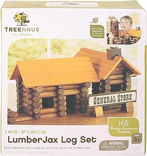 Canoe 165-Piece LumberJax Log Toy Set - CT191216RJ145