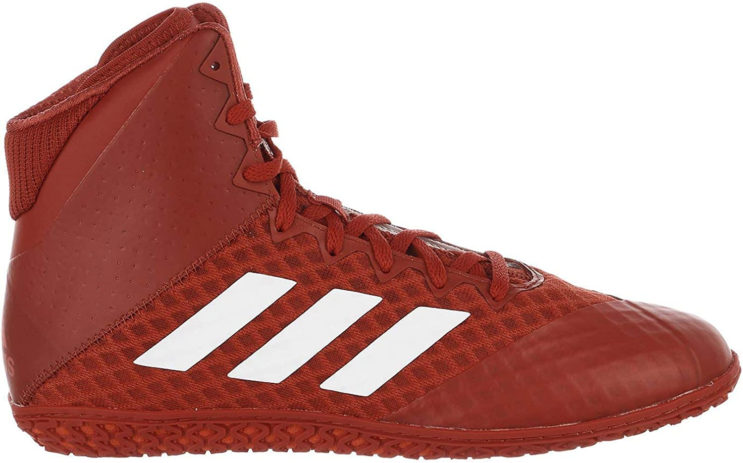 Adidas Mat Wizard 4 Red White Wrestling shoes (AC6972)