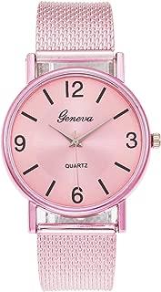 Women's Watches Sleek Minimalist Quartz Watches, Lightweight Analog Quartz Ladies Bracelet Wristwatch