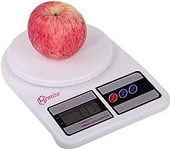 HEMIZA Zamkar Trades Electronic Digital Multipurpose Kitchen Weighing Scale Machine (White, 10 Kg)