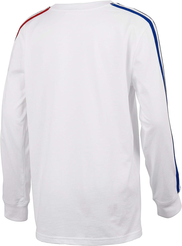 Amazon.com: adidas Boys' Long Sleeve Cotton Jersey T-Shirt Tee ...