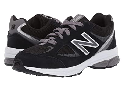New Balance Kids PK888v2 (Little Kid) (Black/Grey) Boys Shoes