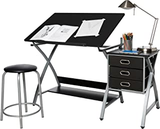 OneSpace Craft Station, Black and Silver