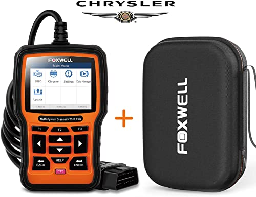 2021 Foxwell discount NT510 sale Elite Bi-Directional All System Scan Tool for Chrysler Dodge Jeep with Storage Case online