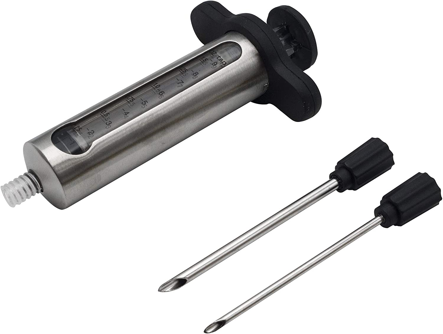 Chef Select Premium National uniform free shipping Flavor Injector La Stainless Window Steel Max 59% OFF