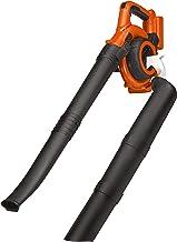 BLACK+DECKER GWC3600LB-XJ GWC3600LB 36 V Lithium-Ion Vacuum Blower, Bare Unit (Battery not Included), Orange