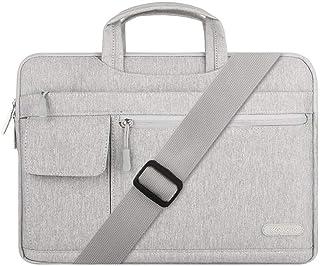 Mosiso Canvas Grey Laptop Bags