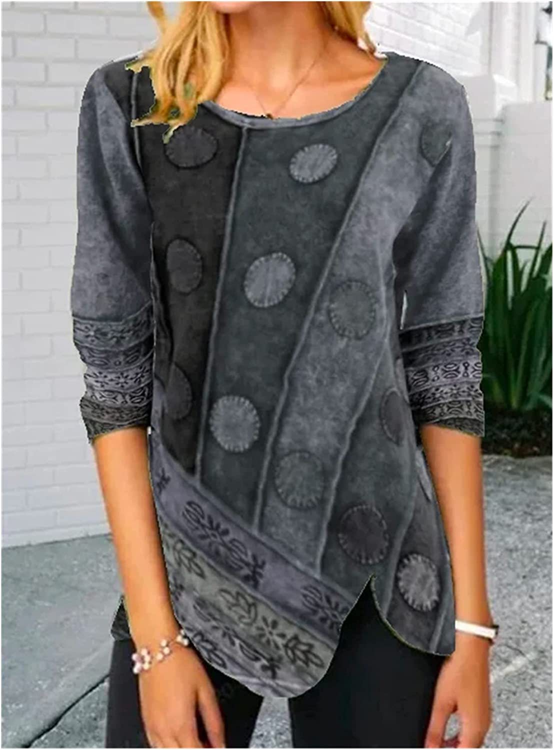Women's Long-Sleeved T-Shirt Clothing Autumn Spring and Complete Free Shipping Ranking TOP15