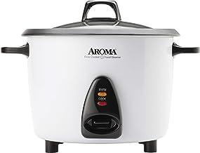 اجاق گازهای رایحه ای Aroma-ARC-360-NGP 20 لیوان گلدان سبزیجات سبک و بخارپز ، سبک ، سفید