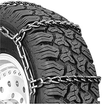 Security Chain Company QG3229 Quik Grip Wide Base DH Light Truck Tire Traction Chain - Set of 2: image