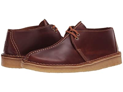 Clarks Desert Trek (Tan Leather) Men