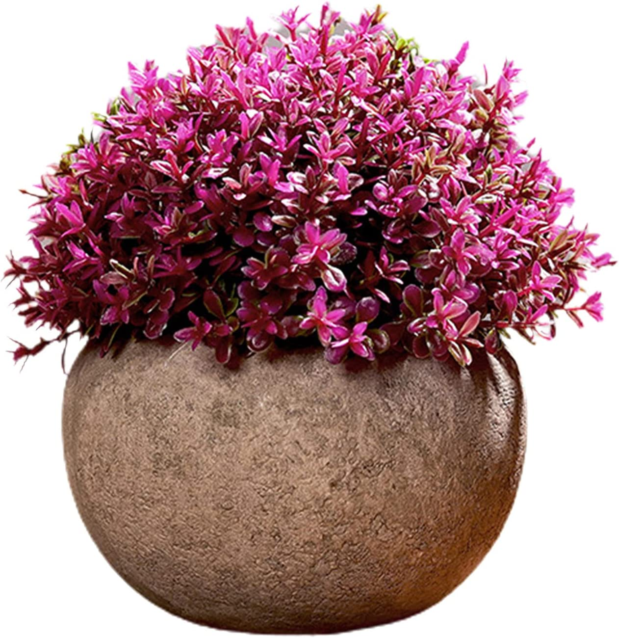 Simulation Potted Fresh Rare Home Decoration Ball Rural Grass Plastic Department store