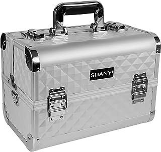 SHANY Premier Fantasy Collection Makeup Artists Cosmetics Train Case - Silver Diamond